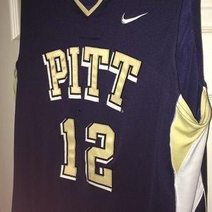 Nike Authentic Pitt Basketball Jersey